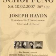2007_Haydn Schöpfung