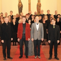 Consortium musicum Berlin mit künstlerischen Leitern